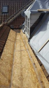 Aldridge Roofing - Fibre work