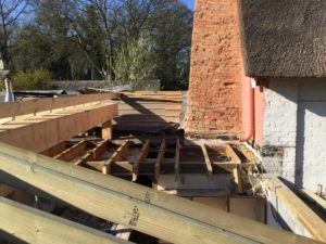 Convert flat to pitched roof